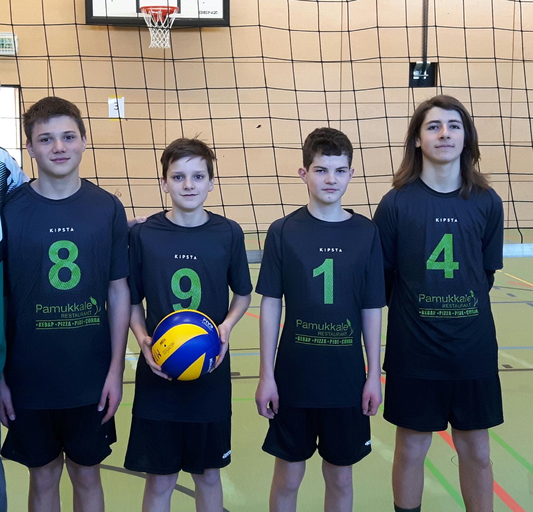 Volleyball Jugend Guter Start Der U 15 Tg Geislingen