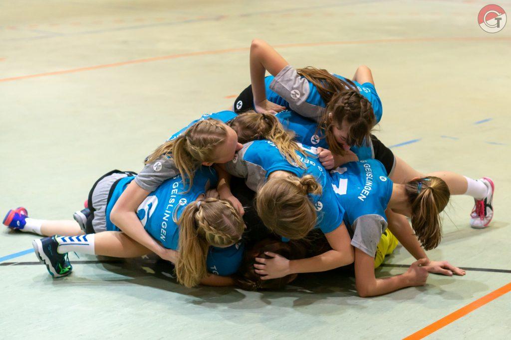 Freude nach dem Derby-Sieg gegen den TV Altenstadt