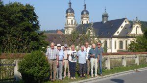 Eisenbieger vor Kloster Schöntal